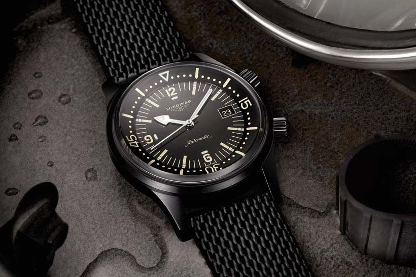 Inmersión legendaria con: Longines Legend Diver Watch