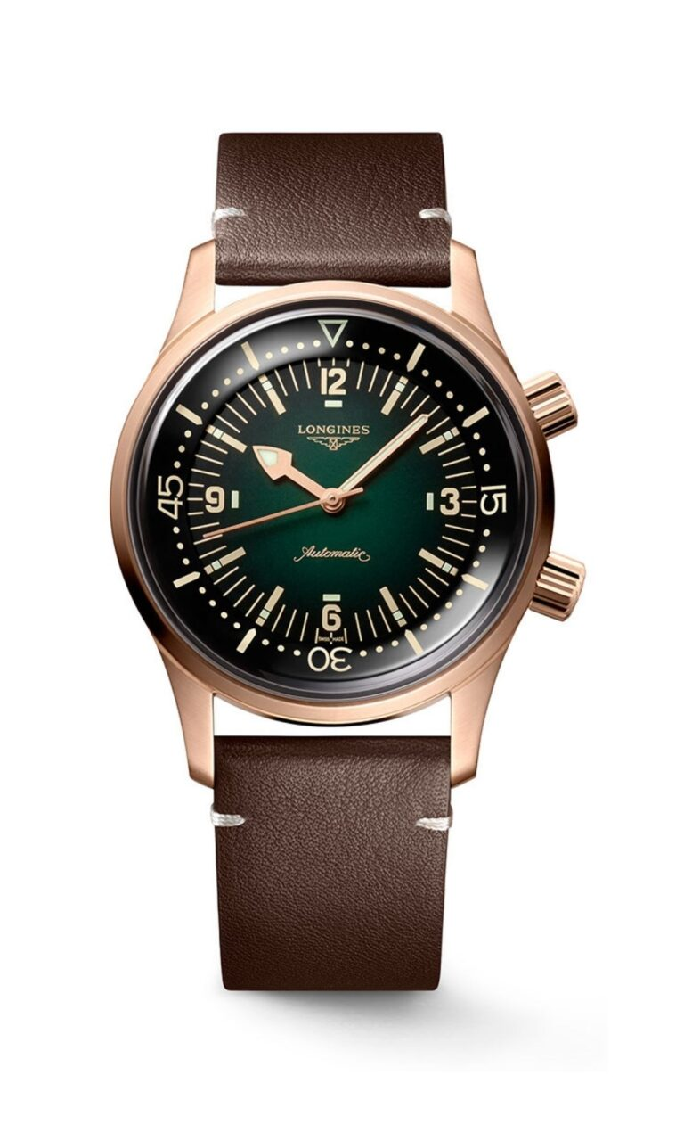 The Longines Legend Diver Bronze Watch L3.774.1.50.2
