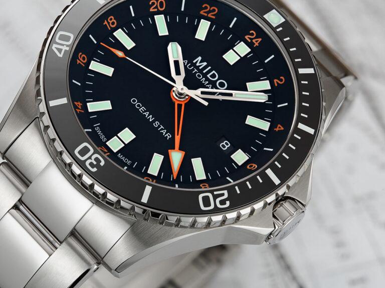 Mido Ocean Star GMT ideal para los viajeros
