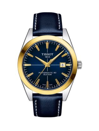 Tissot Gentleman Automatic 18K Gold Bezel