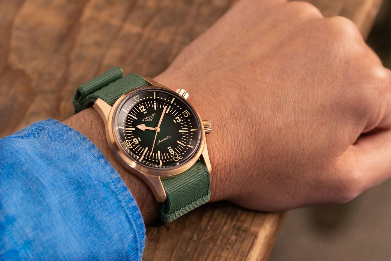 The Longines Legend Diver Bronze Watch
